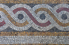 Mozaika abstrakta okregów wzór Zdjęcie Stock