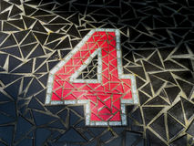 Mozaika żadny 4 Obraz Royalty Free