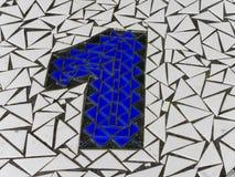 Mozaika żadny 1 Zdjęcie Royalty Free