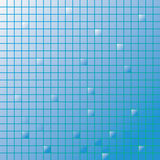 mozaika błękitny tytuły Zdjęcia Royalty Free