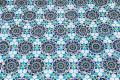 Mozaika barwiony kamień z wzorami Fotografia Stock