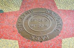 Mozaika - Biscayne park narodowy - Floryda Fotografia Stock