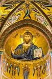 Mozaika Bizantyjska Jezus Zdjęcia Royalty Free