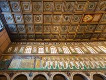 Mozaika Classe miasteczko w Sant Apollinare Nuovo Obrazy Royalty Free