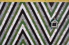 Mozaika dach, Vienna Zdjęcia Royalty Free