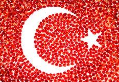 Mozaika dojrzali granatowów ziarna zdjęcia royalty free