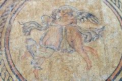 Mozaika Eros I duszy w Alcazar kasztelu, cordoba zdjęcia royalty free