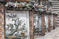 Mozaika i porcelana przy Watem Arun Zdjęcie Royalty Free