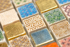 Mozaika Makro- Obraz Royalty Free