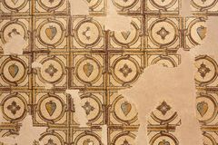 Mozaika, Nebo góra w Jordania Obrazy Stock
