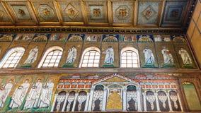 Mozaika pałac Theodoric w Ravenna Obrazy Royalty Free