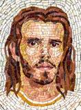 Mozaika portret jezus chrystus zdjęcie royalty free