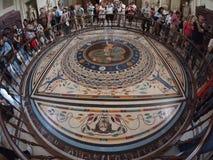 Mozaika przy Watykańskim muzeum Fotografia Royalty Free