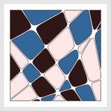 mozaika również zwrócić corel ilustracji wektora Obraz Stock
