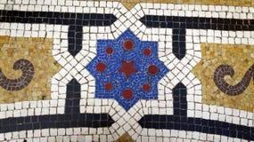 Mozaika szczeg?? na pod?ogowej Vittorio Emanuele II galerii milan W?ochy fotografia stock