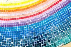 Mozaika taflująca na podłoga Fotografia Royalty Free
