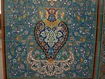 Mozaika w świątyni Hazrat Ali, Mazar-i-Sharif Fotografia Royalty Free