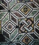 Mozaika w bazylice Hagia Sophia, Istanbuł Zdjęcia Royalty Free