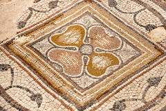 Mozaika w parku narodowym Zippori (Tsipori) Izrael Zdjęcie Stock