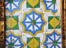 Mozaika w Tajlandia świątyniach fotografia royalty free