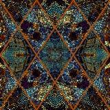 mozaika wzór bezszwowy Zdjęcia Stock