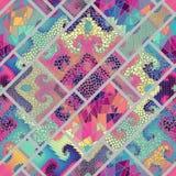 mozaika wzór bezszwowy Zdjęcie Royalty Free