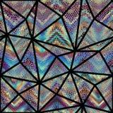 mozaika wzór bezszwowy Obraz Stock