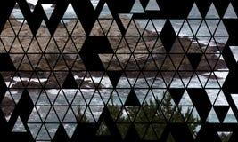 Mozaika wzór Kalifornia skały Nabrzeżne falezy i - wycieczka samochodowa puszka autostrada 1 ilustracji