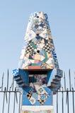 Mozaiki Antonio Gaudi zdjęcie royalty free