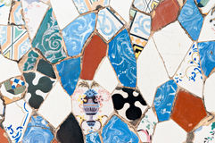 Mozaiki Antonio Gaudi fotografia stock
