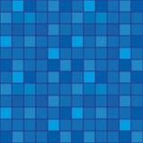 mozaiki błękitny ciemna płytka Obrazy Stock