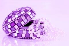 Mozaiki biżuterii pudełko Obrazy Royalty Free