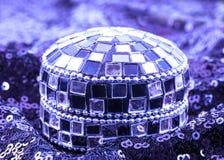 Mozaiki biżuterii pudełko Zdjęcie Stock