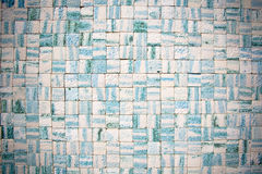 mozaiki ściana zdjęcie royalty free