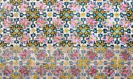 Mozaiki ściana Fotografia Royalty Free
