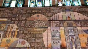 Mozaiki ściana Zdjęcia Royalty Free