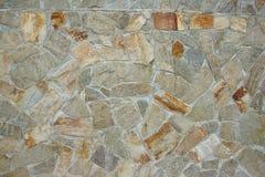 Mozaiki Kamienna ściana Zdjęcie Royalty Free