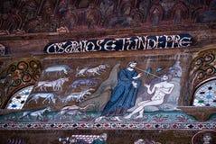 Mozaiki od Cappella Palatina. Palatyn kaplica w Normie Fotografia Stock