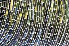 Mozaiki odbicia zbliżenie Obraz Royalty Free