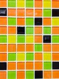 Mozaiki płytki tło Fotografia Royalty Free