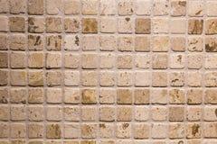 Mozaiki płytki prysznic Obrazy Royalty Free