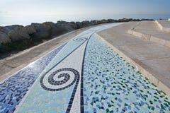 Mozaiki płytki wzór Zdjęcie Royalty Free