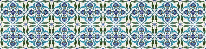 Mozaiki płytki wzór Obraz Royalty Free