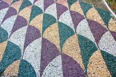 Mozaiki podłoga Caracalla skąpania Obrazy Royalty Free