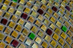 Mozaiki praca w szachownicie, mozaika w rzeźbie Zdjęcia Stock