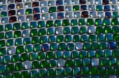 Mozaiki praca w szachownicie, mozaika w rzeźbie Zdjęcia Royalty Free