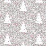 Mozaiki różowy tło Zdjęcia Royalty Free