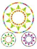mozaiki słońce Zdjęcia Royalty Free