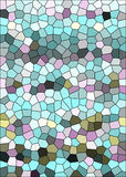 Mozaiki tło Obrazy Stock