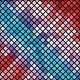 Mozaiki tło Zdjęcia Stock